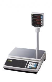 Весы торговые CAS PR-P со стойкой