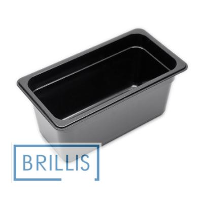 Гастроёмкость Brillis GN1/3-150 из черного поликарбоната