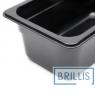 Гастроёмкость Brillis GN1/4-100 из черного поликарбоната