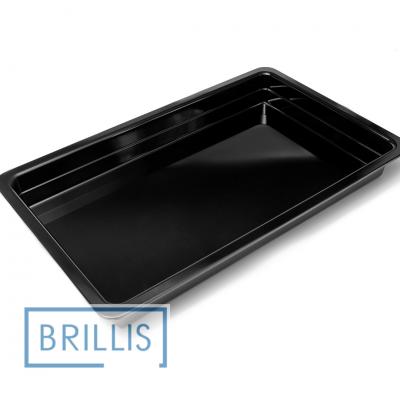 Гастроёмкость Brillis GN1/1-65 из черного меламина