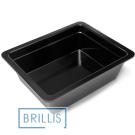 Гастроёмкость Brillis GN1/2-100 из черного меламина