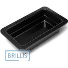 Гастроёмкость Brillis GN1/4-65 из черного меламина