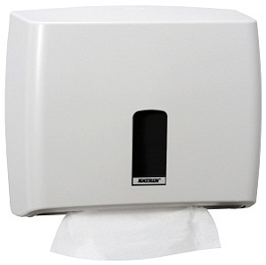 Диспенсер для листовых полотенец Katrin System (W)