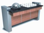 Тепловой модуль для первых блюд и отделением для тарелок Inoksan SA-SL161K