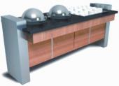 Тепловой модуль для первых блюд и отделением для тарелок Inoksan SA-SL202K