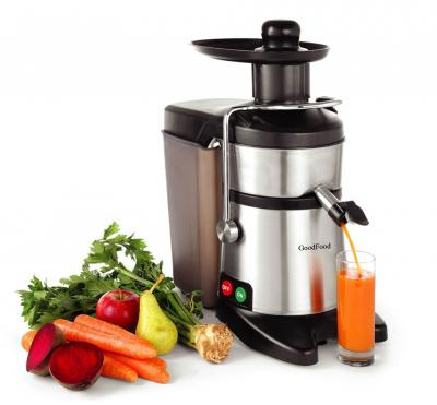 Соковыжималка для твердых фруктов и овощей GoodFood FJ200