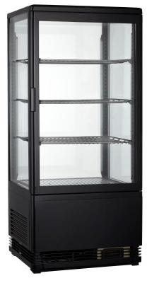 Холодильная витрина GoodFood RT68L black