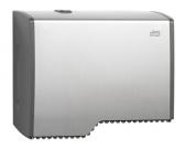 Диспенсер для туалетной бумаги в мини рулонах алюминиевый Tork